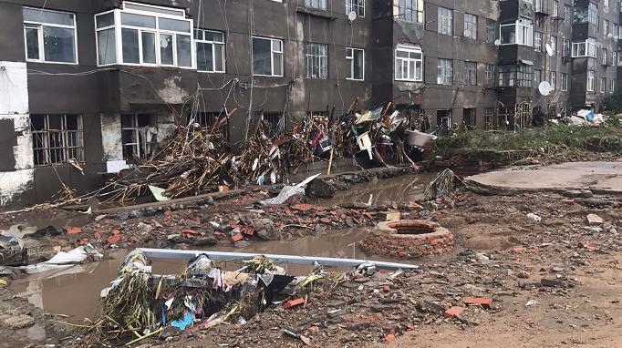 吉林市75个乡镇因暴雨发生洪灾 致22.6万人转移