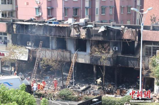 杭州爆炸事故尚有40人留院治疗 5名重伤者好转
