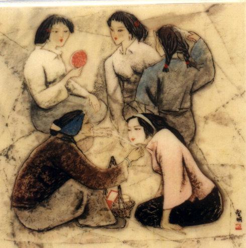 涨姿势,中国古代女子是如何处理毛毛的?