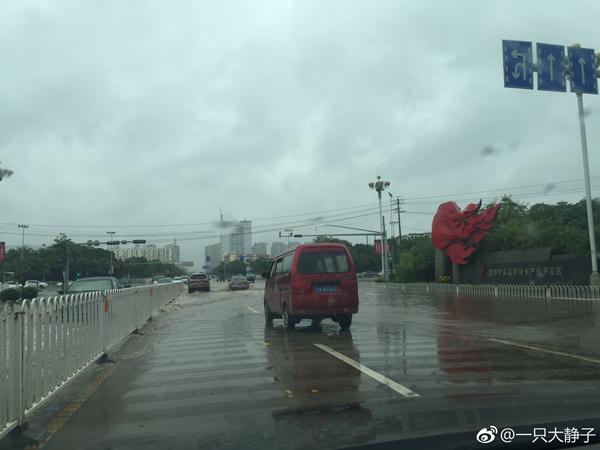 7月22日,昆明降雨,门路积水严重。(泉源:微博)