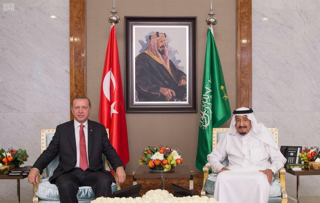 土耳其总统旋风式访沙结束斡旋 努力未见成效