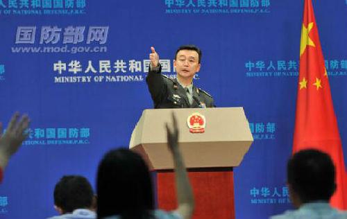 国防部新闻局副局长、新闻发言人吴谦大校(资料图)