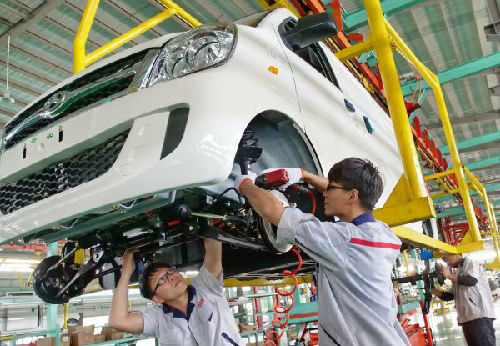 日媒:日本中小企业争抢中国电动汽车市场