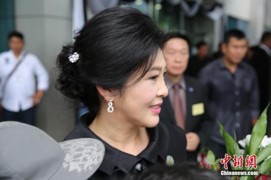 资料图片:泰国前总理英拉。中新社记者 王国安 摄