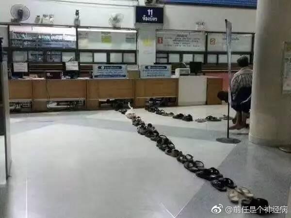 泰国人的排队方式太绝了!看一次笑一次哈哈哈哈哈