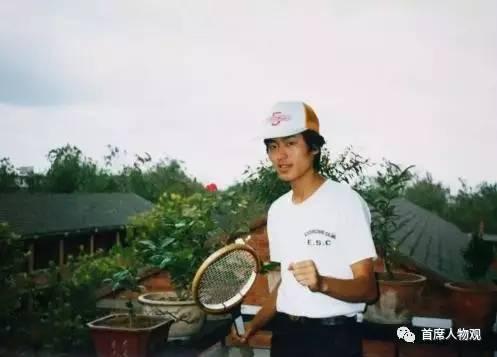 杨元庆在上海交大就读本科时的照片