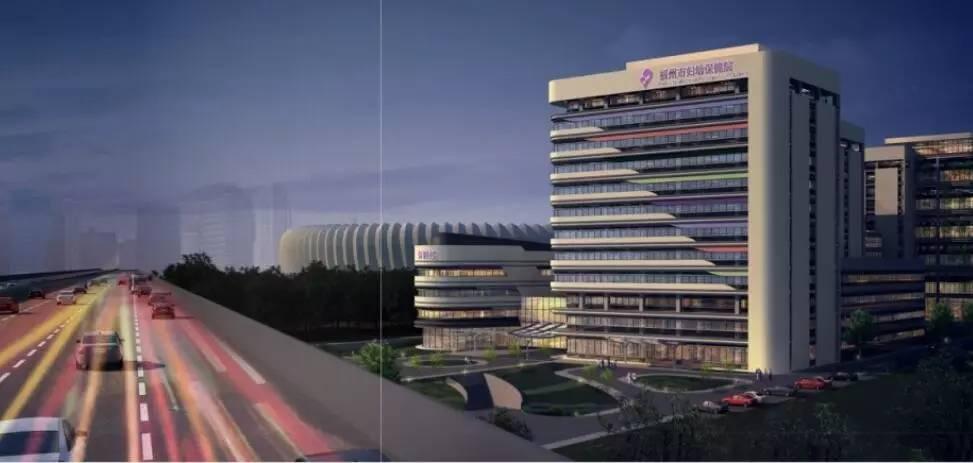 """而此次福州妇幼保健院新址突破了传统造型,设计成了""""船""""型图片"""