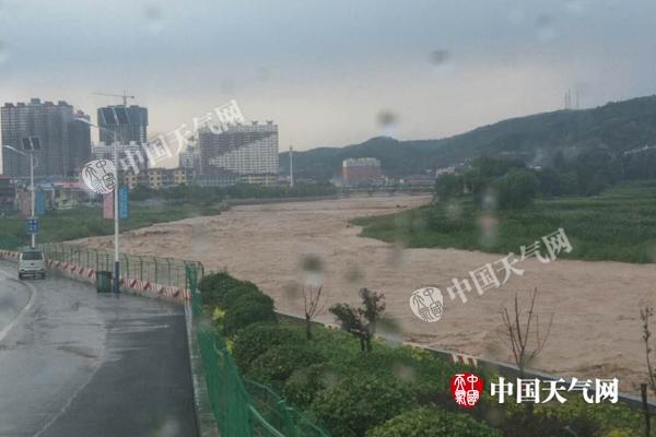 山西吕梁太原等多地将遭暴雨 运城高温后天缓解
