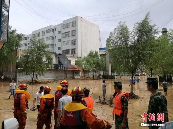 北方多省份强降雨引发局地洪灾 黄河现今年第1号洪水