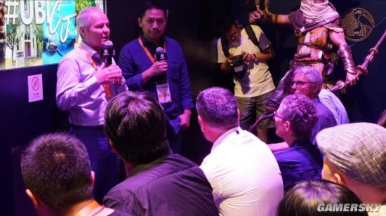 ChinaJoy 2017:育碧CEO访谈 感谢国内玩家支持、维旺