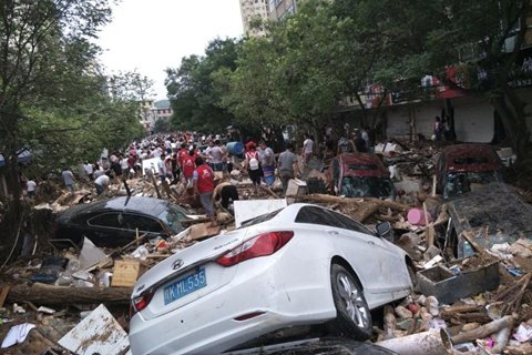 陕西榆林暴雨4人因灾死亡