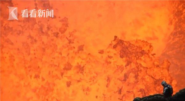 视频|惊魂一刻!摄影师拍摄时突遇火山爆发 根本来不及逃走