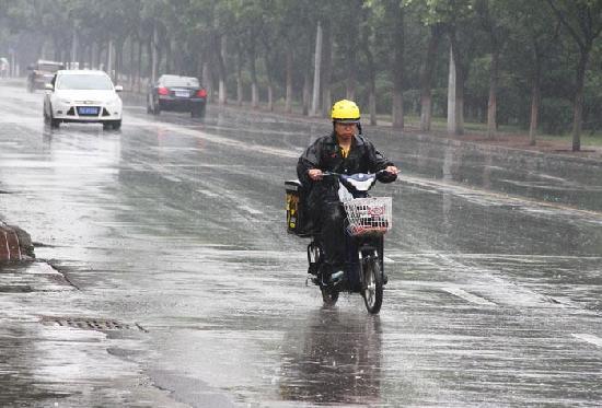 我区出现大范围降水 部分地区达暴雨