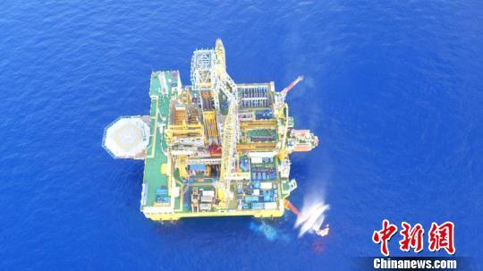 我国首次海域天然气水合物试采圆满结束 朱夏 摄