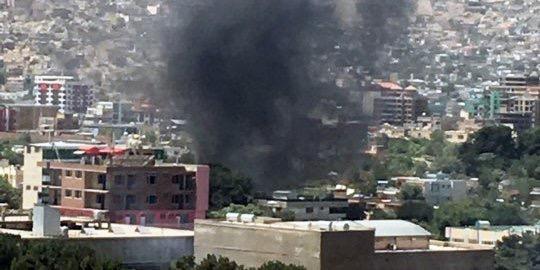 阿富汗首都喀布尔发生爆炸 伤亡情况不明