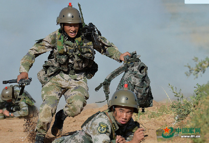 中国有外军模拟部队_胜战之问|军事|中国军队|陆军_新浪新闻