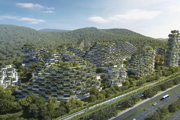 博埃里工作室提供的柳州城市概念图。(图片来自网络)