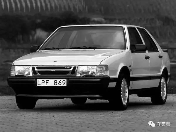 历史 | Saab 9000 Coupe 孤独的北欧浪漫