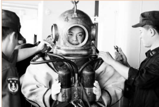 而中国的潜水兵,偏巧是世界这个领域最优秀的队伍之一。
