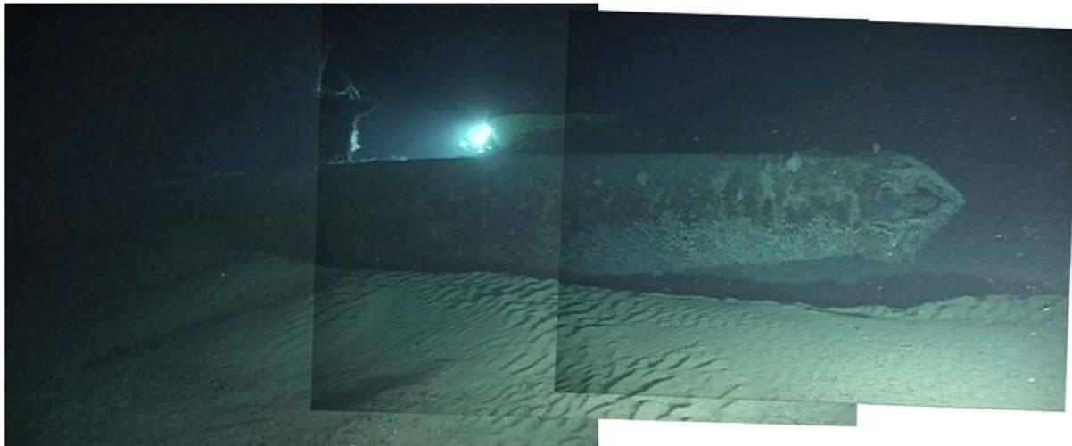 夏威夷的水下,偷袭珍珠湾的日本袖珍潜艇依然静静躺在那里,成了艇员的葬身之地。