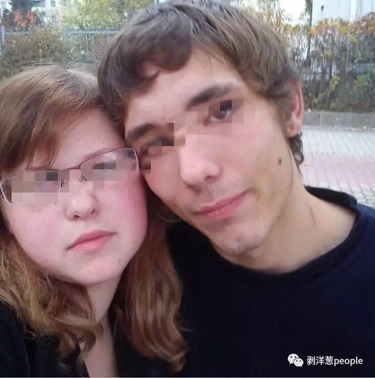 犯罪嫌疑人塞巴斯蒂安(右)和克塞尼娅。图片来自网络