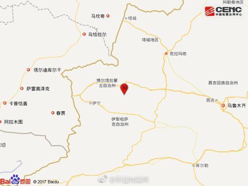 新疆精河6.6级地震 当地地震局启动Ⅱ级应急相应