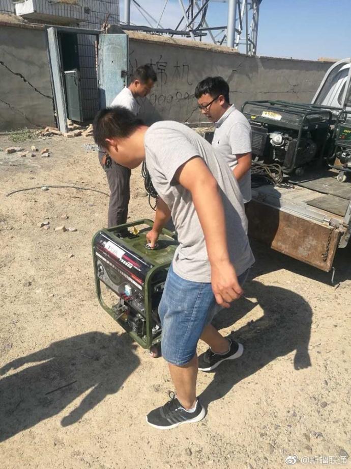 新疆联通积极开展抢修工作