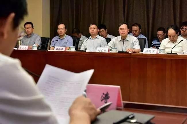环保部相关负责人约谈四地主要负责人