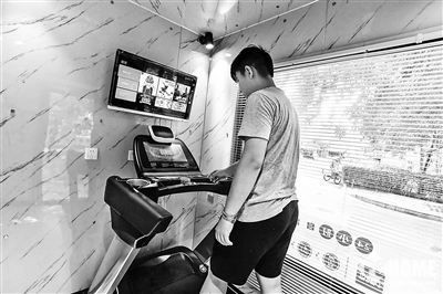 不必去健身房了?北京小区推共享健身房|创投|融