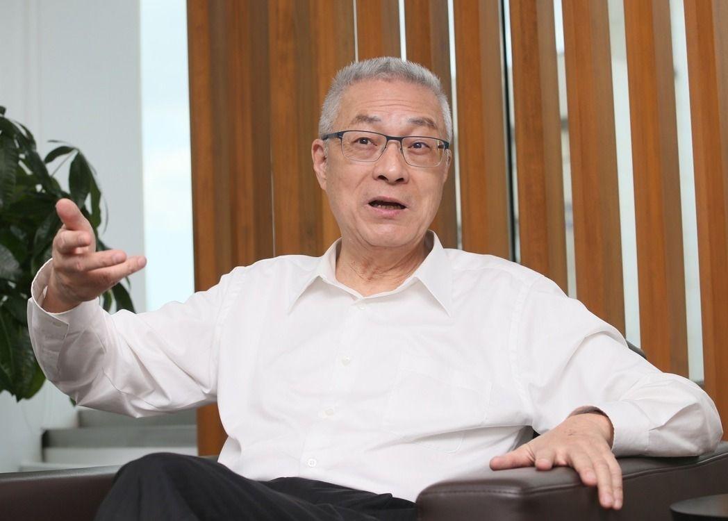 国民党主席当选人吴敦义(图片来源:联合新闻网)