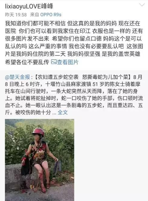 李丽在微博上辟谣