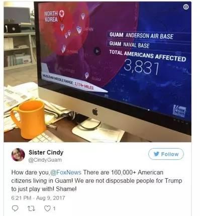 关岛民众怒斥福克斯新闻网的无知…