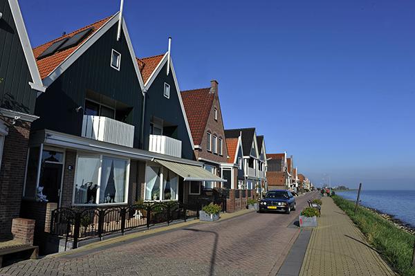 荷兰海边小镇弗朗丹。