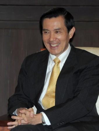 台湾地区前领导人马英九(图片来源:台湾《中央社》)