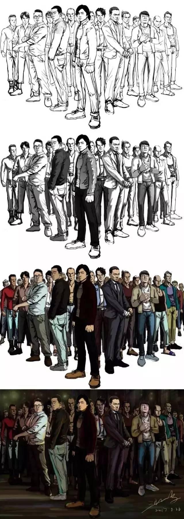 破42亿的《战狼2》,手稿居然出自90后在校生,连