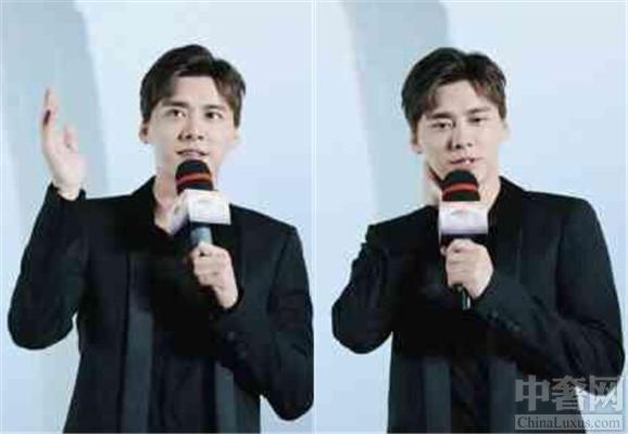 李易峰为电影站台 和粉丝互动居然害羞