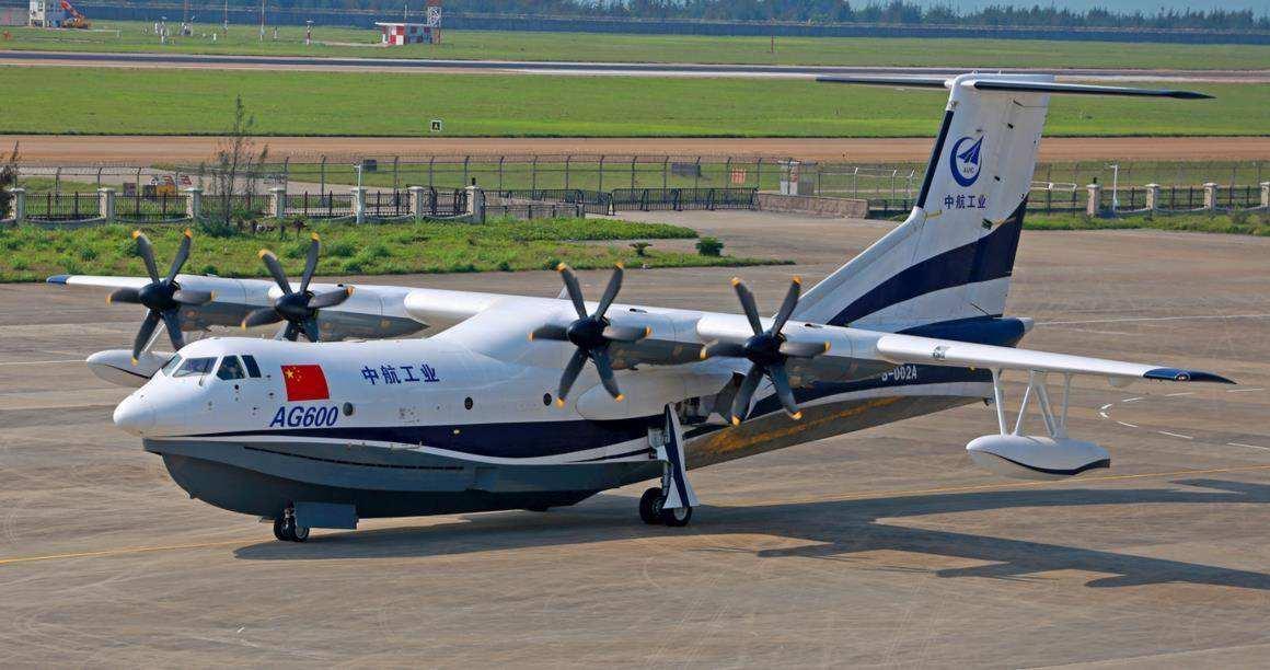 国产ag600大型水陆两栖飞机:国产化率达到90% 中国航空领域全新突破