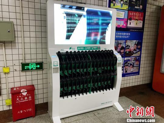 未来这种设备有望进入商场和写字楼内。 王子涛 摄