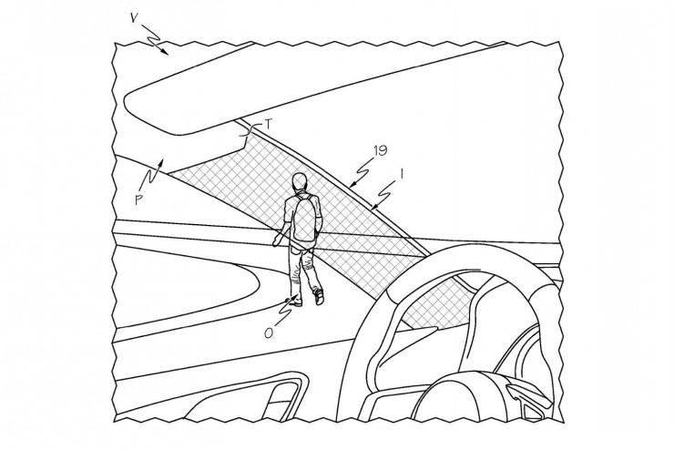 丰田获隐形设备专利 让司机看