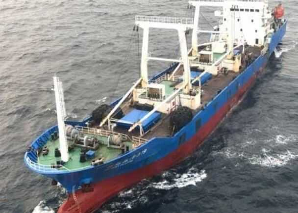 涉案中国渔船被指合法在厄瓜多尔天然维护区打鱼(图片起源:东网)