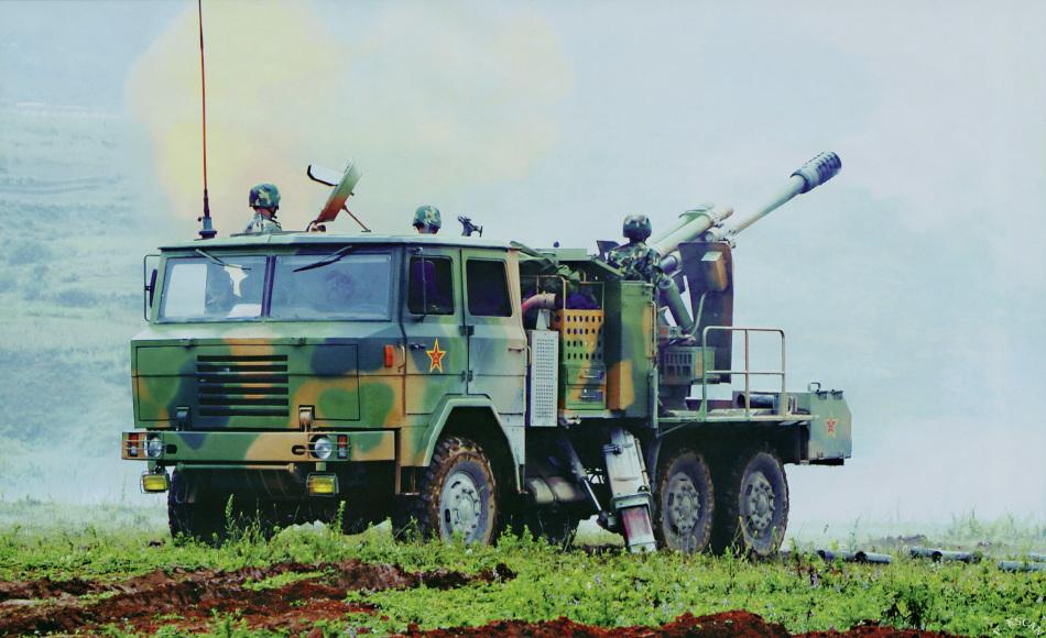中国PLC09车载炮(网络资料)