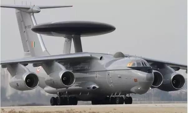 印度空军仅有的3架A-50EI预警机(网络资料)