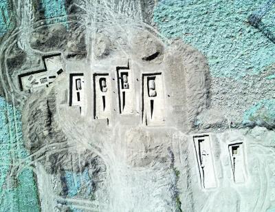 世园会考古发现古墓1146座 包含完好魏晋家族墓地