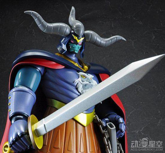 《魔神z》暗黑大将军手办欣赏 邪恶帝国要手办界复兴?