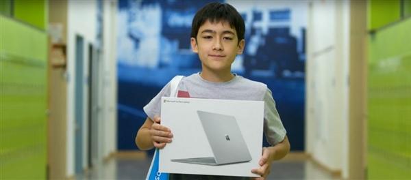 中学生写信夸赞微软表示喜爱 结果竟得到免费Surface Laptop