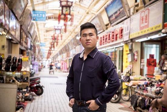 新党讲话人王炳忠。(来源:台湾《镜周刊》)