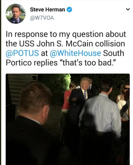 记者提问截图