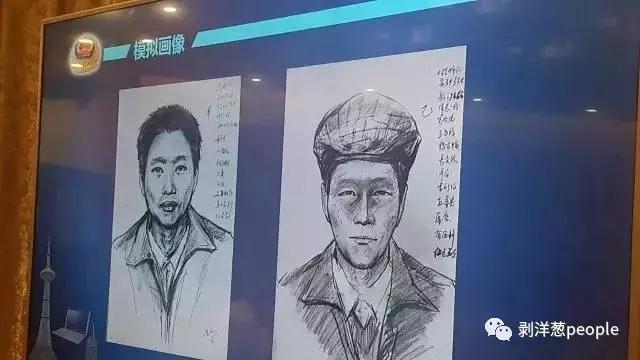 嫌疑人模拟画像。