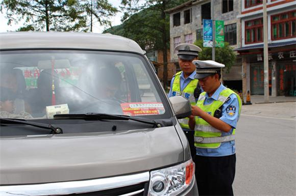 石柱:加强旅游季道路交通管理 确保群众安全出行