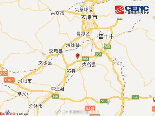 国度地震台网官方微博